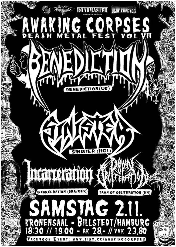 Link zu der Veranstaltung Awaking Corpses VII: Benediction,...