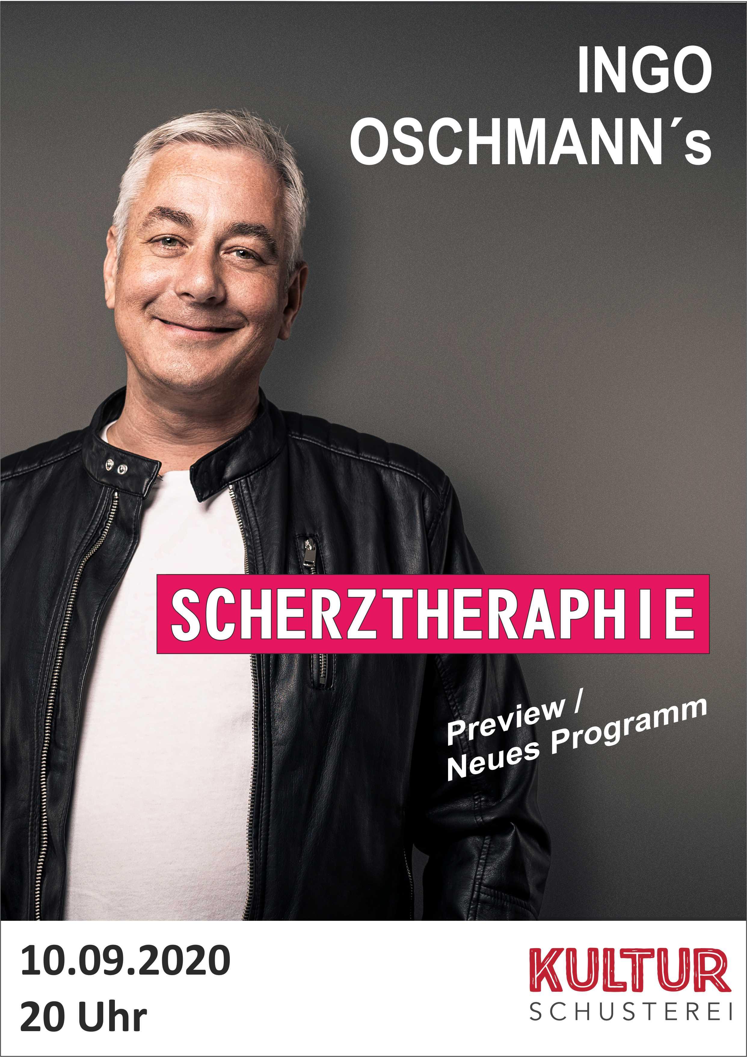 Link zu der Veranstaltung Ingo Oschmann´s   SCHERZTHERAPIE